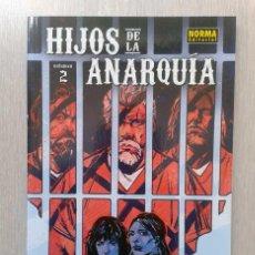 Cómics: HIJOS DE LA ANARQUÍA 2, DE ED BRISSON, DAMIAN COUCEIRO, Y JESÚS HERVÁS. Lote 56548984