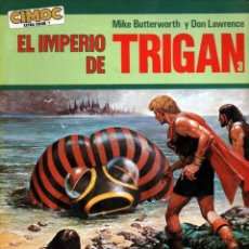 Cómics: EL IMPERIO DE TRIGAN 3 ULTIMATUM A ELEKTON (MIKE BUTTERWORTH / DON LAWRENCE) CIMOC EXTRA COLOR Nº 7. Lote 56599138