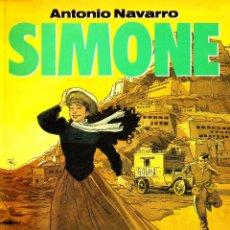 Cómics: SIMONE. TODO COMENZO EN TOZEUR. COLECCIÓN EL MURO - 19. NORMA EDITORIAL. Lote 56667804