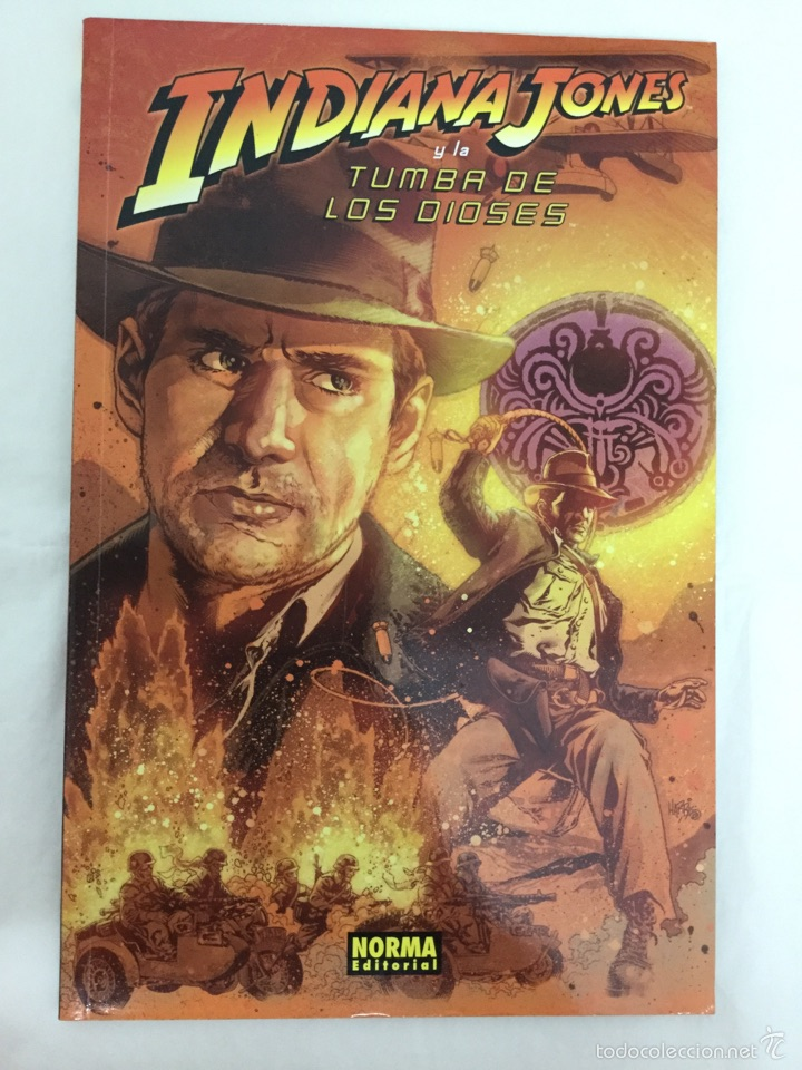 INDIANA JONES Y LA TUMBA DE LOS DIOSES - COMIC - NORMA (Tebeos y Comics - Norma - Comic USA)