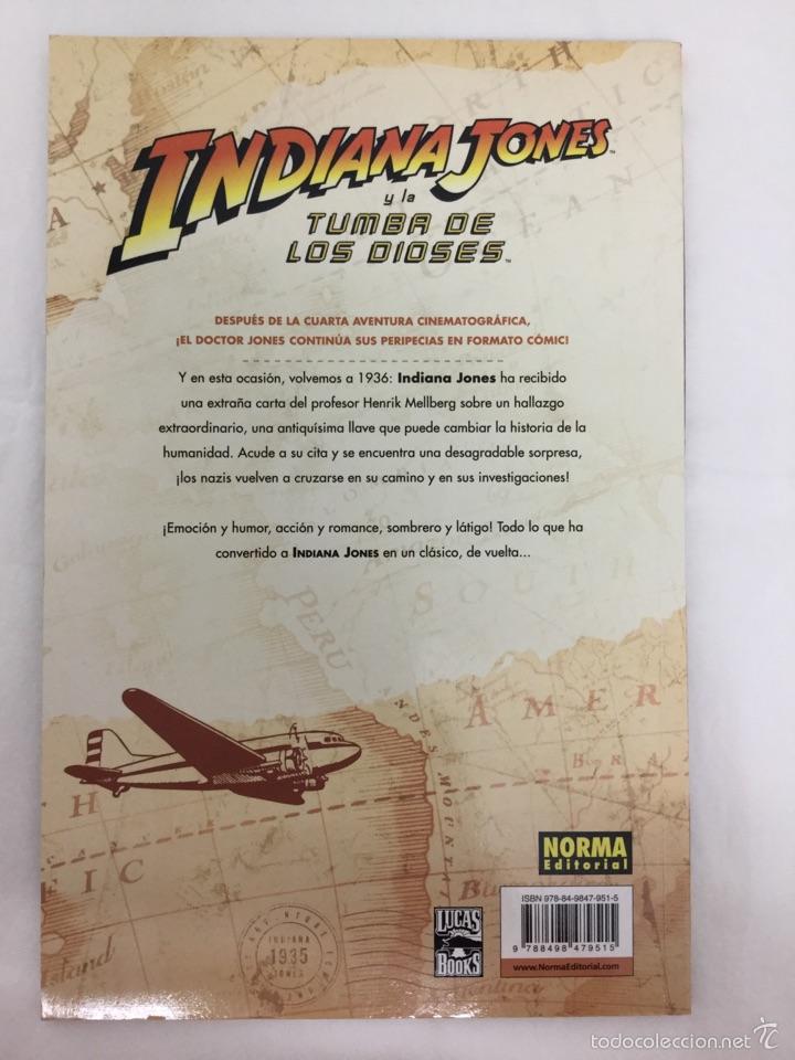 Cómics: INDIANA JONES Y LA TUMBA DE LOS DIOSES - Comic - NORMA - Foto 2 - 39718826
