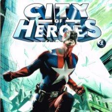Cómics: CITY OF HEROES 1. NORMA EDITORIAL,SEIE DOS NÚMEROS.. Lote 56801267