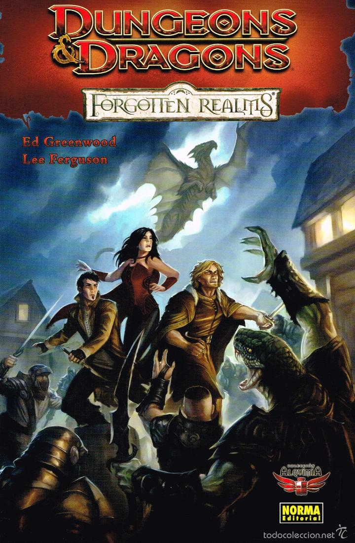 DUNGEONS DRAGONS.FORGOTTEN REALMS.NORMA EDITORIAL (Tebeos y Comics - Norma - Otros)