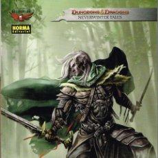 Cómics: DUNGEONS DRAGONS.LA LEYENDA DE DRIZZT. NORMA EDITORIAL. Lote 219015905