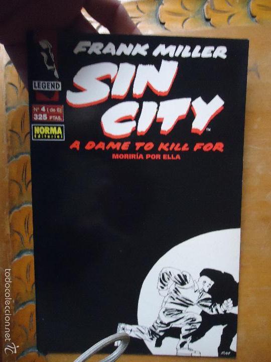 FRANK MILLER , SIN CITY - MORIRIA POR ELLA NUMERO 4 DE 6 (Tebeos y Comics - Norma - Comic USA)