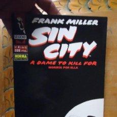 Cómics: FRANK MILLER , SIN CITY - MORIRIA POR ELLA NUMERO 4 DE 6 . Lote 56854803