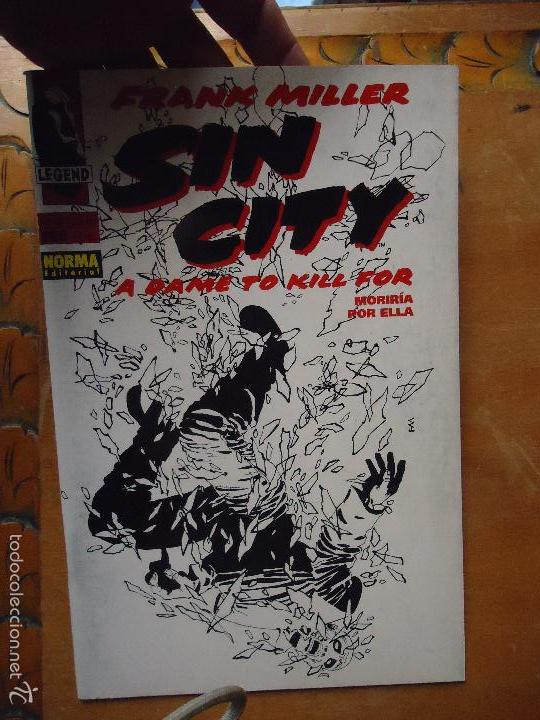 FRANK MILLER , SIN CITY - MORIRIA POR ELLA NUMERO 2 DE 6 (Tebeos y Comics - Norma - Comic USA)