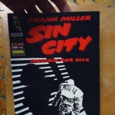 Cómics: FRANK MILLER , SIN CITY - MORIRIA POR ELLA NUMERO 1 DE 6 . Lote 56854817