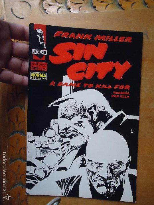 FRANK MILLER , SIN CITY - MORIRIA POR ELLA NUMERO 3 DE 6 (Tebeos y Comics - Norma - Comic USA)