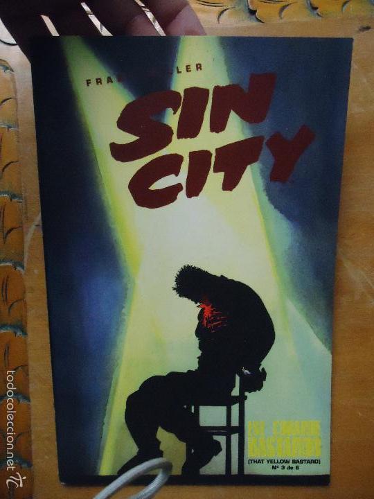 FRANK MILLER , SIN CITY - ESE COBARDE BASTARDO NUMERO 3 DE 6 NORMA (Tebeos y Comics - Norma - Comic USA)