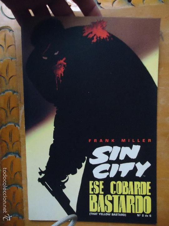 FRANK MILLER , SIN CITY - ESE COBARDE BASTARDO NUMERO 2 DE 6 NORMA (Tebeos y Comics - Norma - Comic USA)