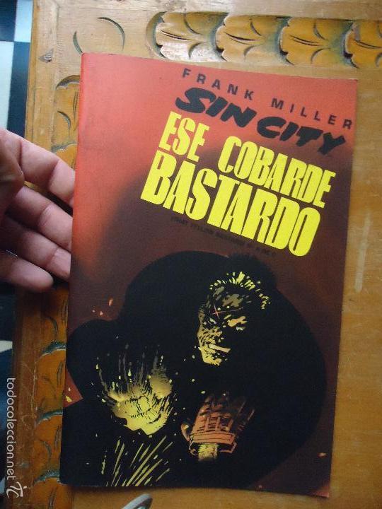 FRANK MILLER , SIN CITY - ESE COBARDE BASTARDO NUMERO 5 DE 6 NORMA (Tebeos y Comics - Norma - Comic USA)