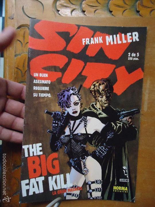 FRANK MILLER , SIN CITY - LA GRAN MASACRE NUMERO 2 DE 5 , - NORMA EDITORIAL (Tebeos y Comics - Norma - Comic USA)