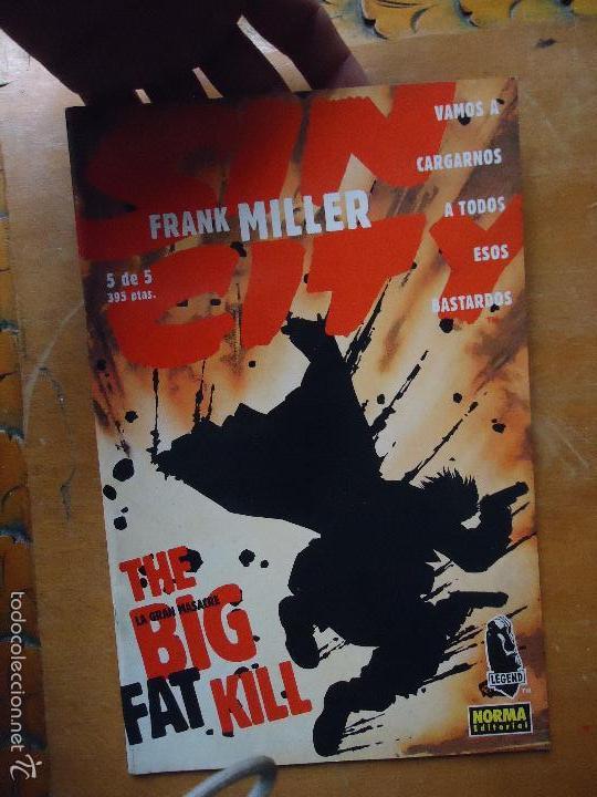 FRANK MILLER , SIN CITY - LA GRAN MASACRE NUMERO 5 DE 5 , - NORMA EDITORIAL (Tebeos y Comics - Norma - Comic USA)