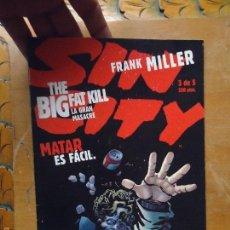 Cómics: FRANK MILLER , SIN CITY - LA GRAN MASACRE NUMERO 3 DE 5 , - NORMA EDITORIAL . Lote 56855089