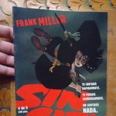 Cómics: FRANK MILLER , SIN CITY - LA GRAN MASACRE NUMERO 4 DE 5 , - NORMA EDITORIAL . Lote 56855097