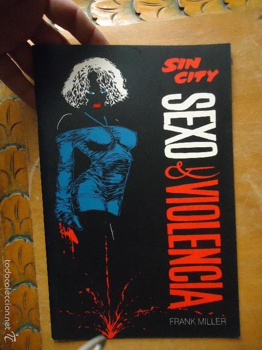 FRANK MILLER , SIN CITY - SEXO Y VIOLENCIA , - NORMA EDITORIAL (Tebeos y Comics - Norma - Comic USA)