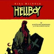 Cómics: HELLBOY: EL ATAÚD ENCADENADO Y OTRAS HISTORIAS (EDICIÓN EN CARTONÉ). Lote 56906577
