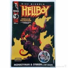 Cómics: HELLBOY Nº 1 / NORMA COMICS / LEGEND 1995 (JOHN BYRNE & MIKE MIGNOLA). Lote 49515207