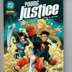 Cómics: YOUNG JUSTICE.(RAREZAS NO INVITADAS).NORMA EDITORIAL. Lote 56937272
