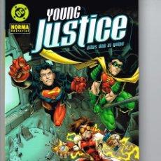 Cómics: YOUNG JUSTICE.(ELLIS DAN EL GOLPE).NORMA EDITORIAL. Lote 56937304