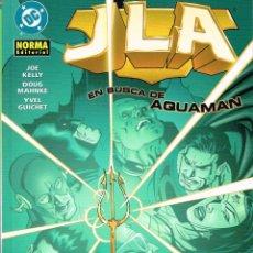 Cómics: JLA.EN BUSCA DE AQUAMAN.NORMA EDITORIAL. Lote 56942416