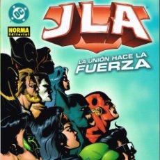 Cómics: JLA.LA UNIÓN HACE LA FUERZA..NORMA EDITORIAL. Lote 76138974