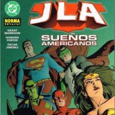 Cómics: JLA.SUEÑOS AMERICANOS..NORMA EDITORIAL. Lote 76139642