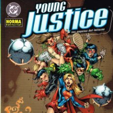 Cómics: YOUNG JUSTICE.LOS ANGELES DEL INFIERNO.NORMA EDITORIAL. Lote 56961714