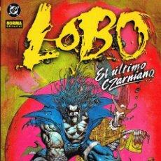 Cómics: LOBO.EL ÚLTIMO CZARNIANO.NORMA EDITORIAL.. Lote 56961994