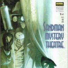Cómics: SANDMAN MYSTERY THEATRE .LA TARÁNTULA.COMPLETA 2 NÚMEROS.NORMA EDITORIAL. Lote 56962241