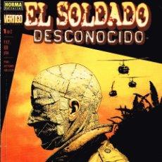 Cómics: EL SOLDADO DESCONOCIDO.COMPLETA 2 NÚMEROS.COLECCIÓN VERTIGO.NORMA EDITORIAL. Lote 56962458
