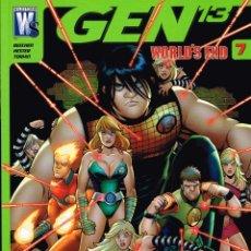 Cómics: GEN 13.WORLD´S END.Nº 7.NORMA EDITORIAL. Lote 56963446