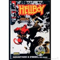 Cómics: HELLBOY Nº 4 DE 4 / NORMA EDITORIAL 1994 ( SERIE GRAPA ). Lote 46786457