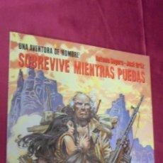 Cómics: UNA AVENTURA DE HOMBRE. SOBREVIVE MIENTRAS PUEDAS. CIMOC EXTRA COLOR Nº 107. NORMA EDITORIAL.. Lote 57075880