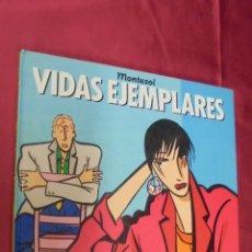 Cómics: VIDAS EJEMPLARES. MONTESOL. LOS ALBUMES DE CAIRO. Nº 10. NORMA EDITORIAL.. Lote 57085461