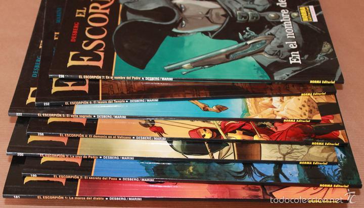 Cómics: 4 El ESCORPION nºs 1 2 3 4 - Marini - CIMOC EXTRA COLOR 181 190 200 208 NORMA, rustica - y sueltos - Foto 2 - 259969820