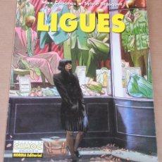 Cómics: LIGUES - MAX CABANES - CIMOC EXTRA COLOR 135 – NORMA - MUY BUEN ESTADO. Lote 125876031