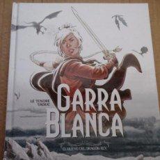 Cómics: COMIC NORMA GARRA BLANCA 1 LE TENDRE TADUC EL HUEVO DEL DRAGON REY MUY NUEVO ÑE. Lote 57473334