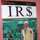 Cómics: I.R.S. Nº 8. LA GUERRA NEGRA. VRANCKEN-DESBERG. NORMA EDITORIAL. Lote 32336848
