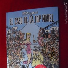 Cómics: EL CASO DE LA TOP MODEL - JACK PALMER - PETILLON - CARTONE. Lote 186314575