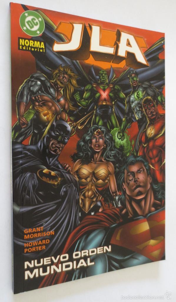 JLA NUEVO ORDEN MUNDIAL NORMA (Tebeos y Comics - Norma - Comic USA)