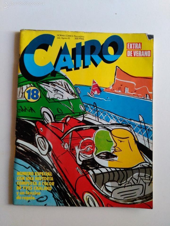 CAIRO. Nº 59. ED NORMA (Tebeos y Comics - Norma - Cairo)
