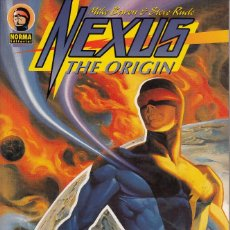 Cómics: NEXUS: THE ORIGIN (NORMA,1997) - STEVE RUDE - MIKE BARON - PRESTIGE. Lote 58111097