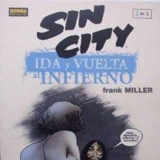 Cómics: TOMO SIN CITY IDA Y VUELTA AL INFIERNO 2 DE 3 FRANK MILLER. Lote 101709452