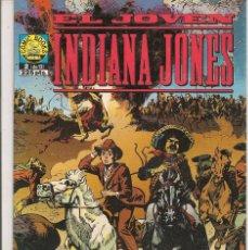 Cómics: EL JÓVEN INDIANA JONES. Nº 2 (DE 12). NORMA 1992. (RF.MA) C/8. Lote 58143128
