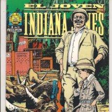 Cómics: EL JÓVEN INDIANA JONES. Nº 3 (DE 12). NORMA 1992. (RF.MA) C/8. Lote 58143150