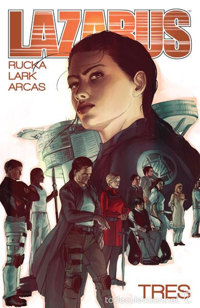 CÓMICS. LAZARUS 3. CÓNCLAVE - GREG RUCKA/MICHAEL LARK/SANTIAGO ARCAS (Tebeos y Comics - Norma - Comic USA)