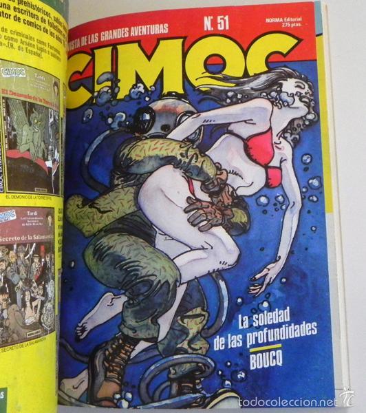 Cómics: LOTE CIMOC 42 49 51 Y CAIRO 27 - NORMA RETAPADO CÓMIC PARA ADULTOS - BOURGEON GARCÉS MOEBIUS COMICS - Foto 2 - 232590515