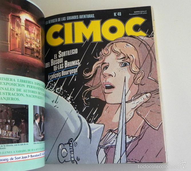 Cómics: LOTE CIMOC 42 49 51 Y CAIRO 27 - NORMA RETAPADO CÓMIC PARA ADULTOS - BOURGEON GARCÉS MOEBIUS COMICS - Foto 4 - 232590515